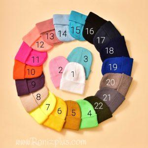 کلاه مداد رنگی کد 454